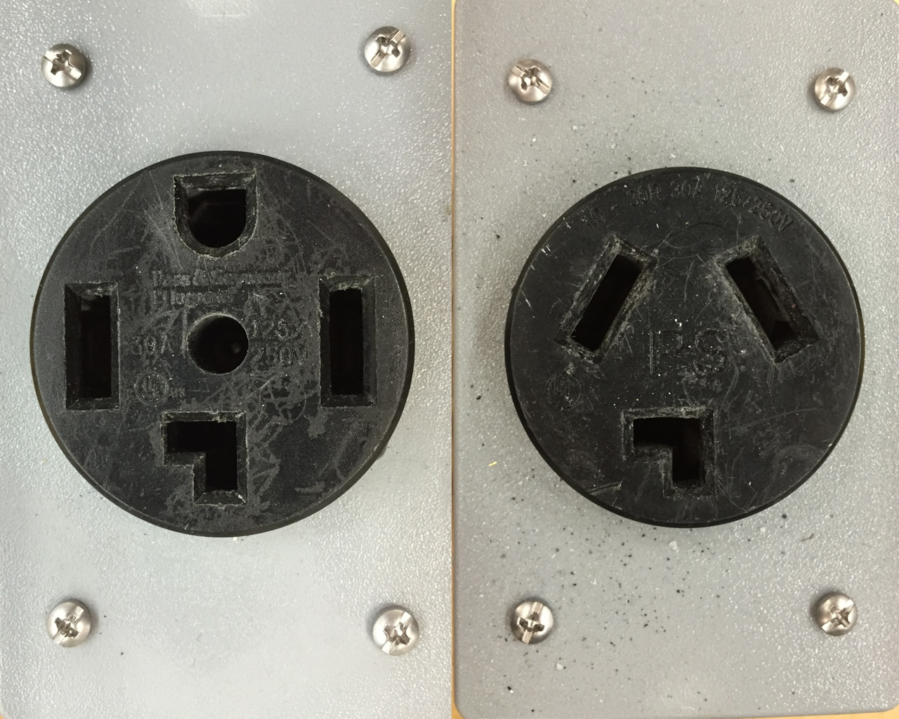 3 Prong Vs 4 Dryer Outlets Whats The Difference Freds Wiring An Outlet Without Ground Appliance