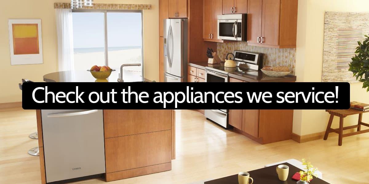 washers dryers ranges microwaves refrigerators