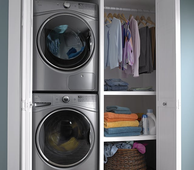 closet depth washer