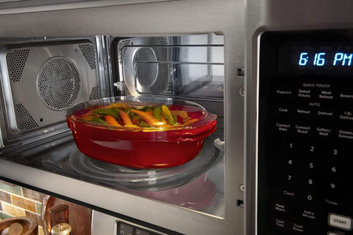 cooking in a microwave