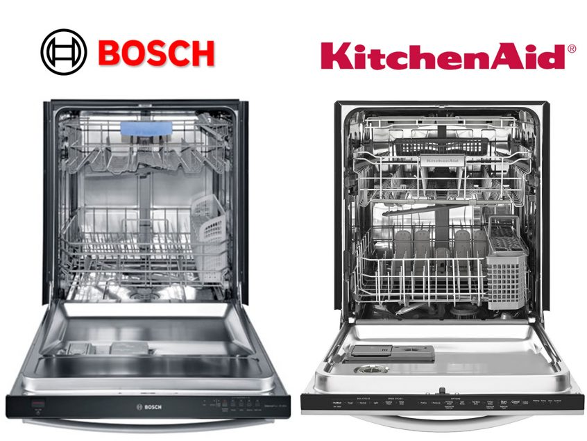 bosch vs kitchenaid