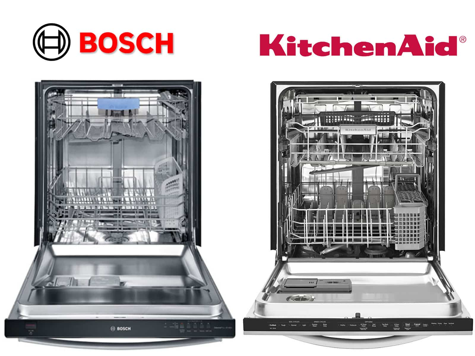 Exceptional Comparing KitchenAid Dishwashers To Bosch Dishwashers | Fredu0027s Appliance