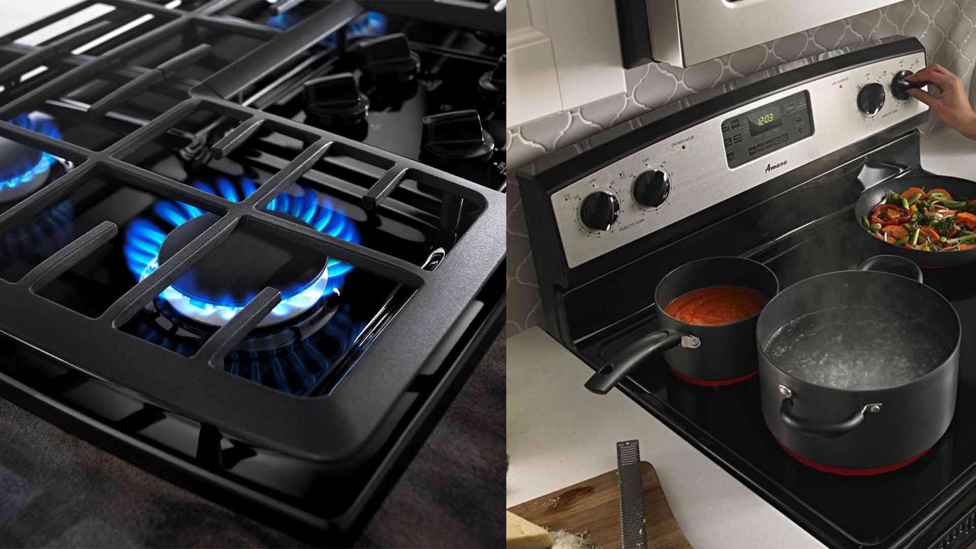 The Differences Between Cooking With Electric And Gas