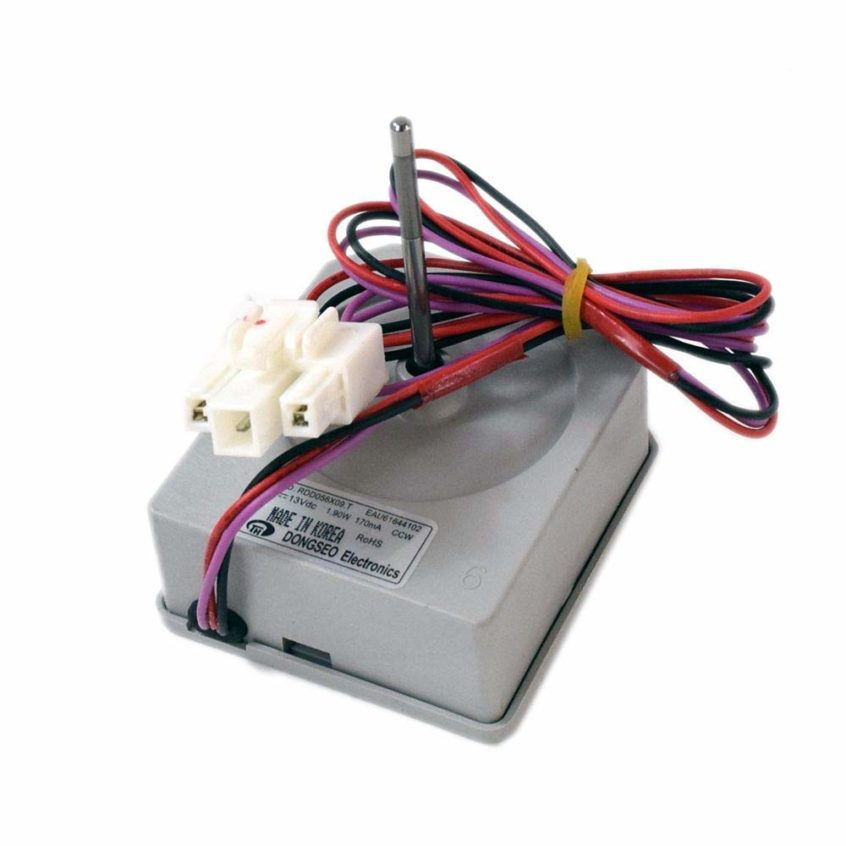How to Replace Your LG Refrigerator's Evaporator Fan Motor