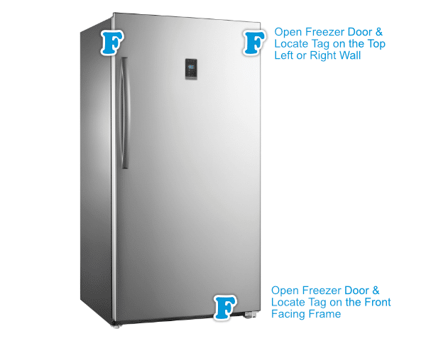 Upright Freezer Finder