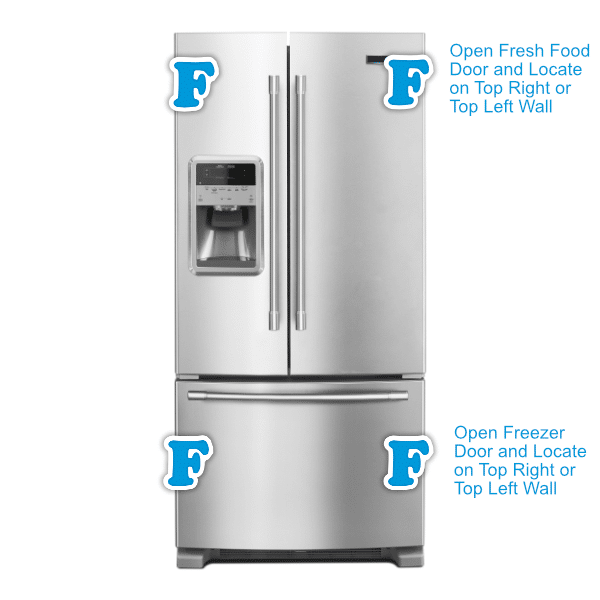 Bottom Freezer Refrigerator Finder