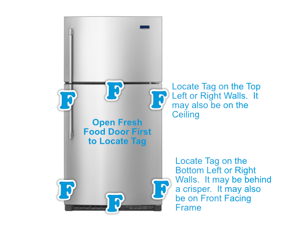 Top Freezer Finder